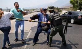Diputado y padre de ex ministra chavista forcejeó con GNB en el tunel La Cabrera