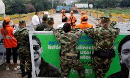 Colombia reabrió frontera pero el lado venezolano sigue bloqueado (+Fotos)