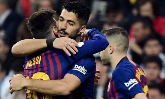 Barcelona triunfó ante el Real Madrid 3-0