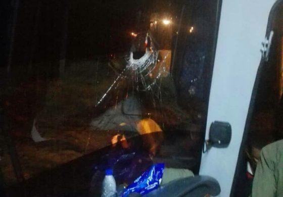 Atacaron autobús donde viajaban diputados de la AN a Cúcuta