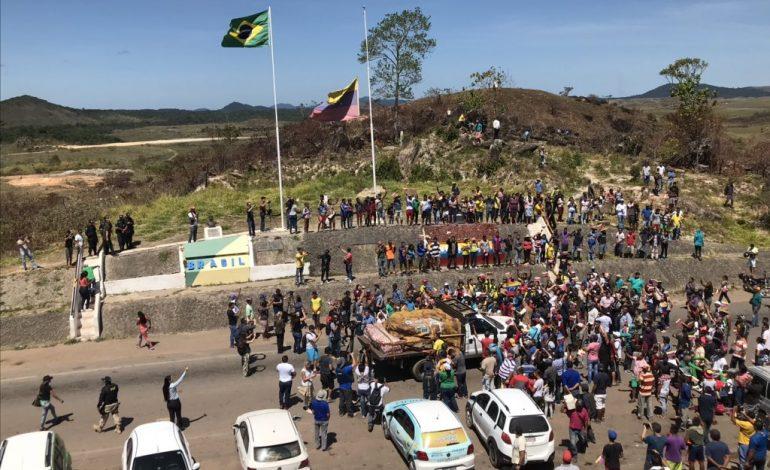 Llegó a Venezuela cargamento con ayuda humanitaria proveniente de Brasil