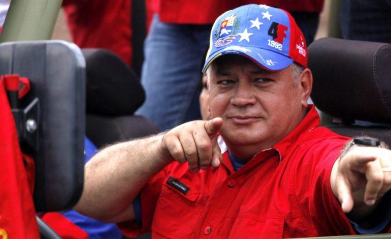 """Cabello aseguró que ante una intervención """"darán la respuesta más terrible"""""""