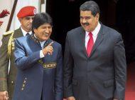 """Evo Morales invitó a lideres latinos a rechazar la """"injerencia"""" de Trump"""
