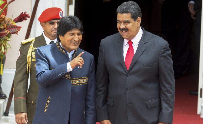Evo Morales señaló que Venezuela necesita diálogo, no intervención extranjera