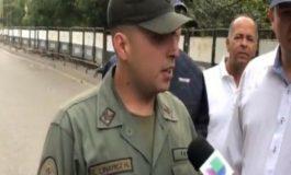 Sargento que se sublevó en la frontera anima a sus compañeros a hacerlo