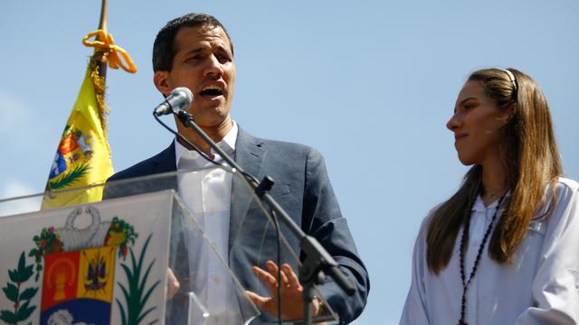 Mira aquí la llegada de Juan Guaidó a Brasil
