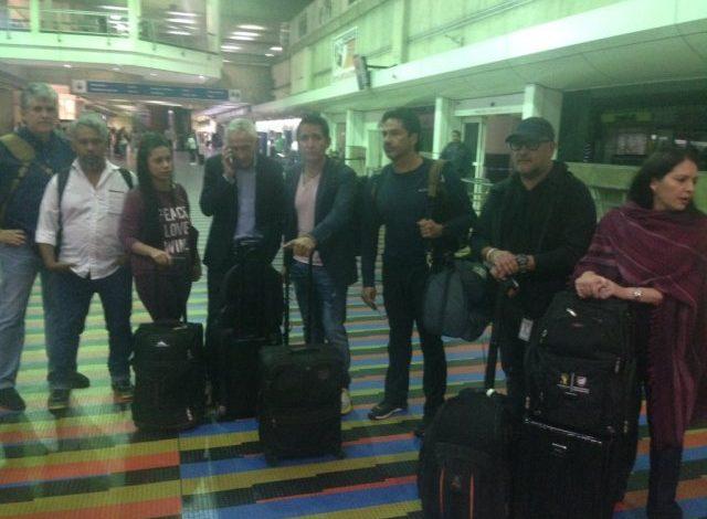 ¡Deportados! Periodistas detenidos por el régimen de Maduro están en Maiquetía