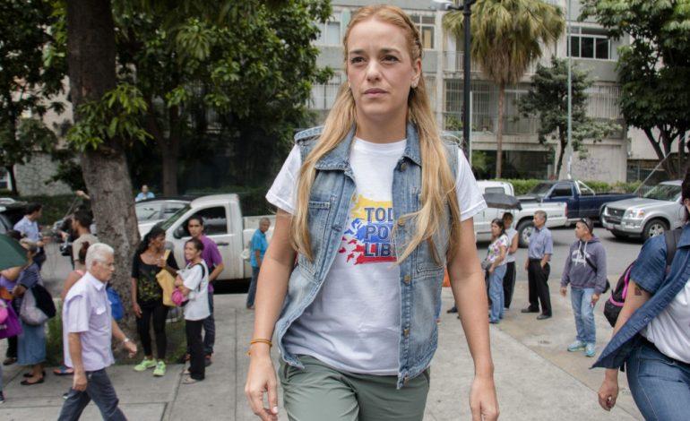Lilian Tintori recalcó que Maduro violó tratado de Ginebra el 23F