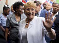 Bachelet habló de la situación en Venezuela tras visita del comisionado de la ONU