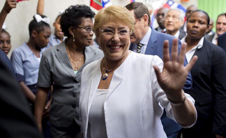Michelle Bachelet: estoy profundamente preocupada por la detención del periodista Luis Carlos Díaz