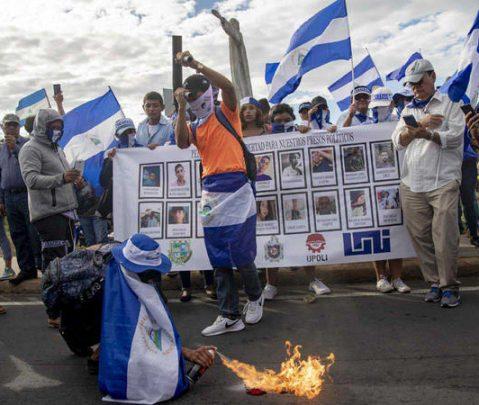 EEUU baraja la opción de intervenir militarmente en Nicaragua
