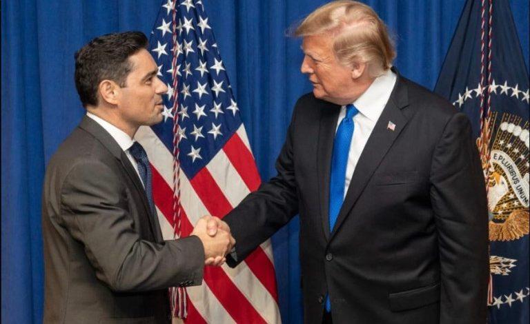 Trump recibirá a Carlos Vecchio para acreditarlo como embajador