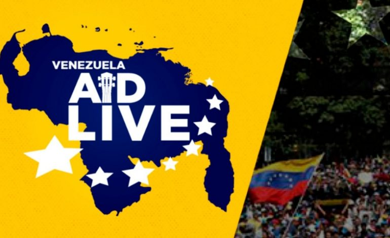 Ve aquí donde podrás disfrutar en vivo del Venezuela Aid Live