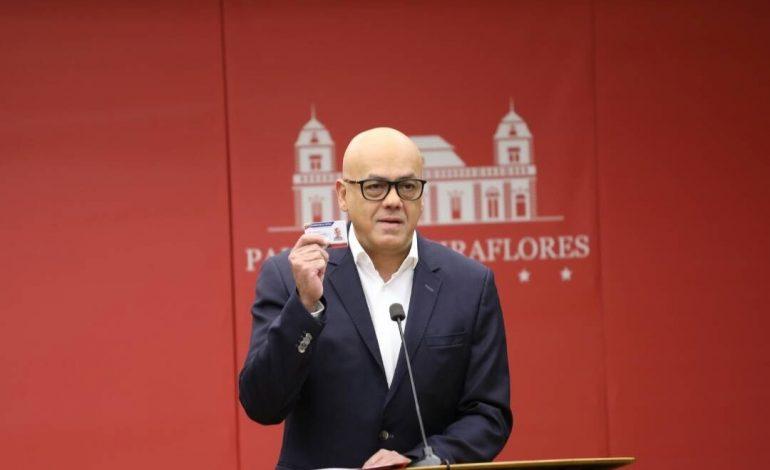Jorge Rodríguez comparó a Guaidó con un preservativo usado