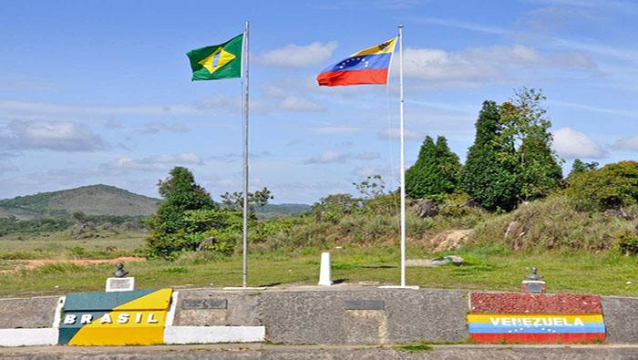 Así amaneció la frontera con Brasil