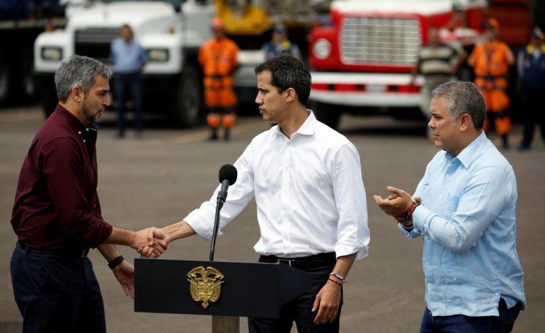 Guaidó se reunirá este viernes con el presidente Mario Abdo en Paraguay