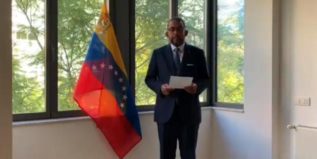 Funcionario de embajada de Venezuela en Portugal reconoció a Guaidó como presidente encargado