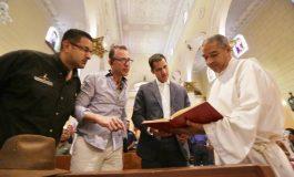 Guaidó llego a Carabobo y su primera parafa fue la Catedral