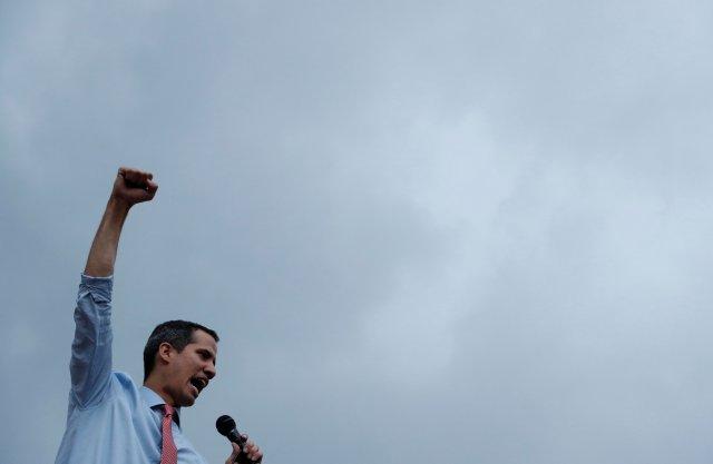 Guaidó volvió a llenar las calles de Caracas tras concentración post apagón (FOTOS)