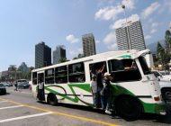 Distanciamiento social no existe en el transporte público nacional