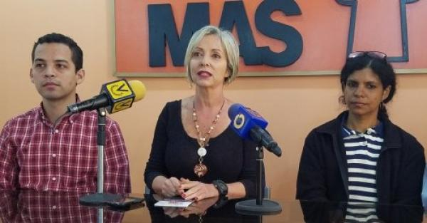 Partido MAS aseguró que Maduro tiene que dejar la presidencia