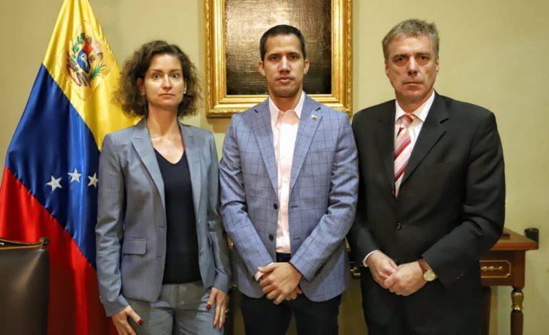 Guaidó se reunió con el embajador de Alemania en Venezuela