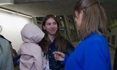 Fabiana Rosales fue recibida en Chile por la representante diplomática de Venezuela