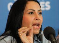 Solórzano: Hago responsable a Maduro por la vida de mi esposo