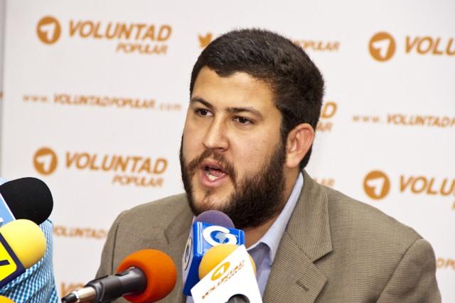 David Smolansky recalcó que no habrá diálogo con el régimen de Nicolás Maduro