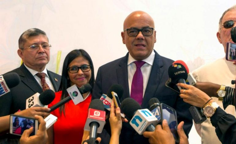 Delcy y  Jorge Rodríguez culpan a Marco Rubio de ocasionar el apagón eléctrico en Venezuela
