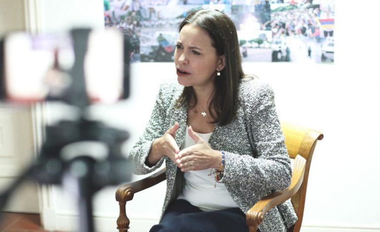 María Corina Machado: en Venezuela hay un genocidio  con todas sus letras