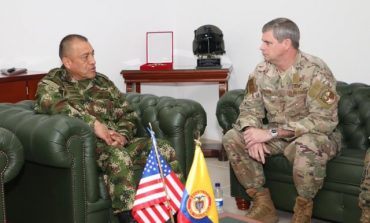 Fuerza Aérea Colombiana y de EEUU están realizando entrenamientos conjuntos