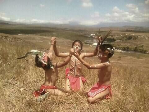 Niños pemones envían un mensaje a Venezuela (+vídeo)