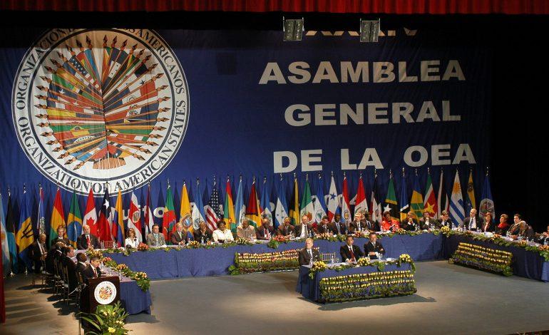 OEA discutirá a Venezuela en su Asamblea General número 49