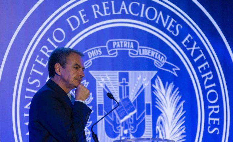 Zapatero afirmó que apoya el diálogo en Venezuela porque otra alternativa no prosperará