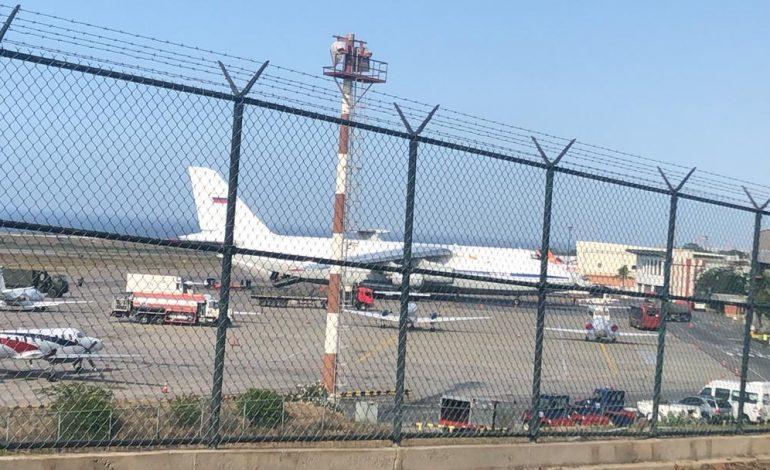 Avión de la fuerza aérea rusa aterrizó en territorio venezolano