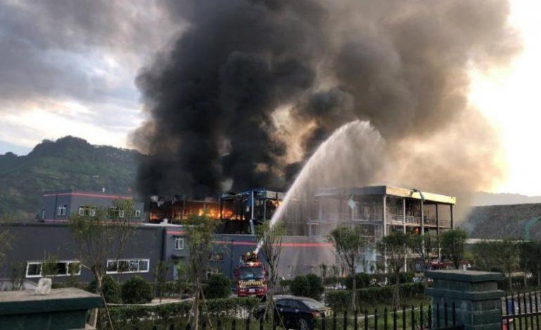 Aumentaron a 44 los muertos por la explosión de planta química en China