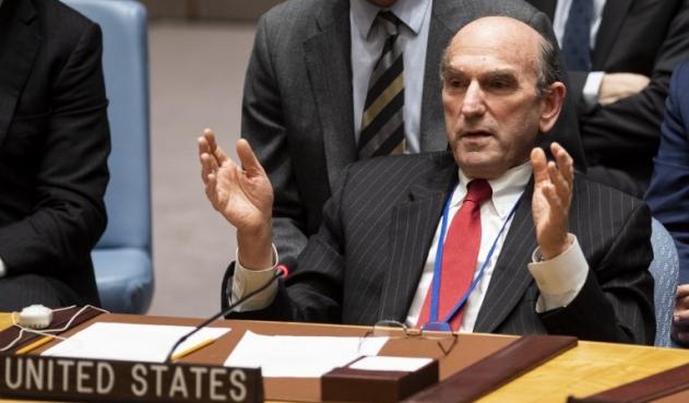 Elliott Abrams reitera que  no hay planes para una intervención militar en Venezuela