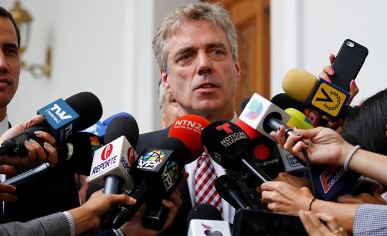 """Régimen de Maduro pidió al embajador alemán abandonar el país por """"actos de injerencia"""""""