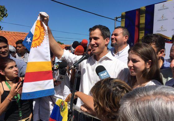 Guaidó desde su Vargas natal recordó que nada apagaría su lucha