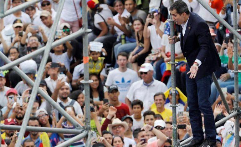 Guaidó convocó una gran marcha nacional para el próximo sábado #9M