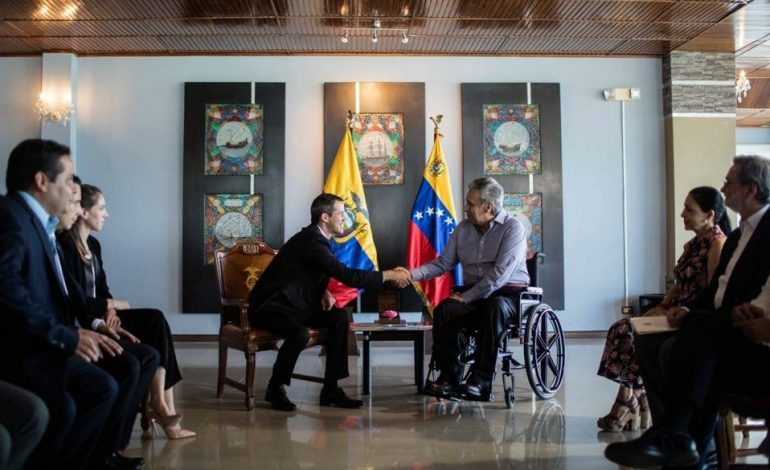 Guaidó informó que regresará a Caracas desde Ecuador y anunció nuevas movilizaciones (+vídeo)