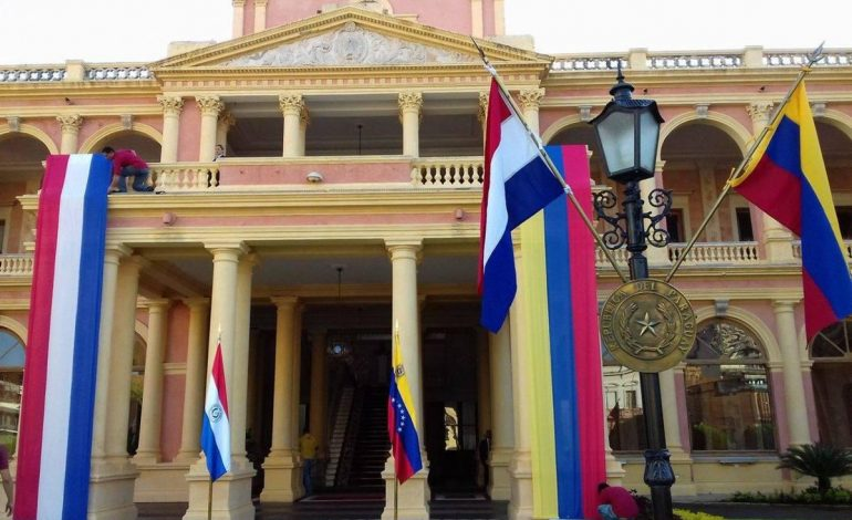 En vídeo: así fue el encuentro de Juan Guaidó con los venezolanos en Paraguay