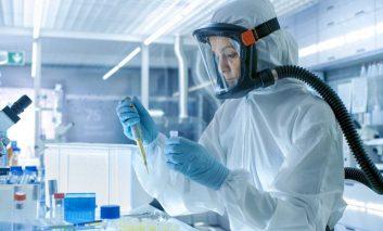 Aislan en un laboratorio a variante menos letal del covid-19