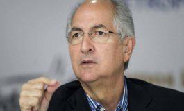 Ledezma: Guaidó debe abandonar el diálogo e invocar el R2P