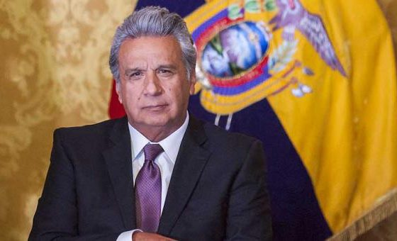 Presidente Lenín Moreno recibirá a Guaidó en Ecuador este sábado
