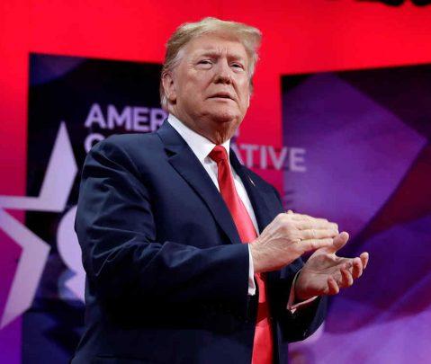Trump: No pueden llevarme a juicio político porque no he cometido ningún crimen