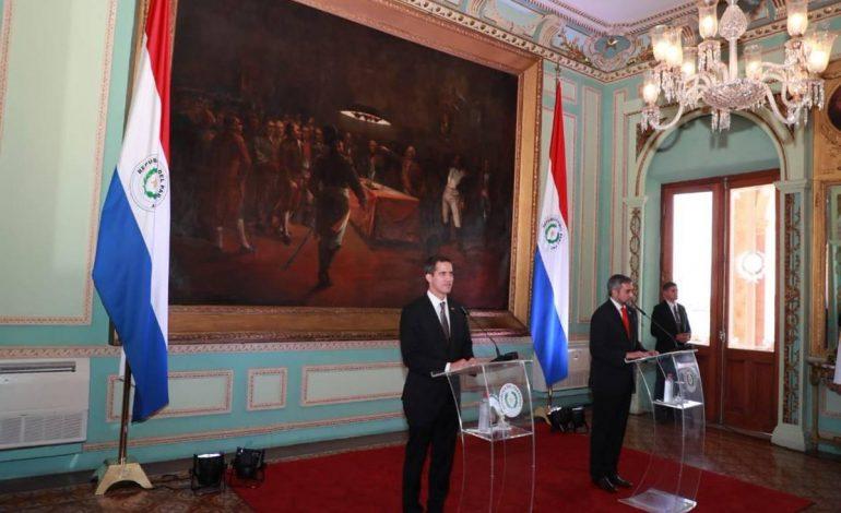 Guaidó desde Paraguay:  vamos a regresar a Caracas porque es un deber con nuestra gente