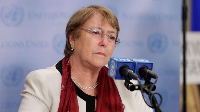 Bachelet condenó la designación de nuevos rectores del CNE por el madurismo