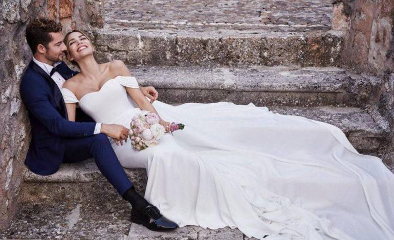 ¡Al fin! David Bisbal y Rosanna Zanetti mostraron una foto de su primer hijo